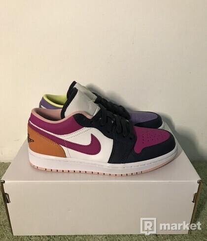 Jordan 1 Low Purple Magenta