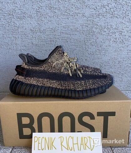 adidas Yeezy Boost 350 V2 Static Black (Reflective) US14