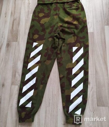 Off-White camo pants