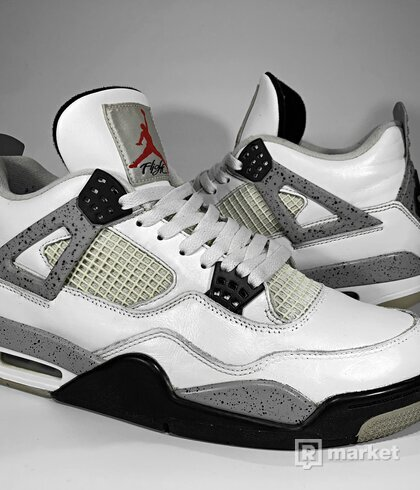 "Air Jordan Retro 4 OG ""White Cement"""