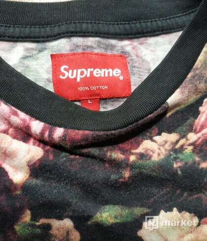 Supreme floral pocket tee