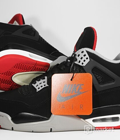 "Air Jordan Retro 4 OG ""Bred"" 2019"