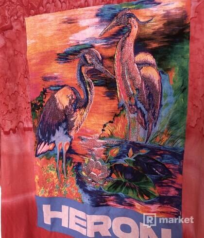 Heron Preston tie dye tee
