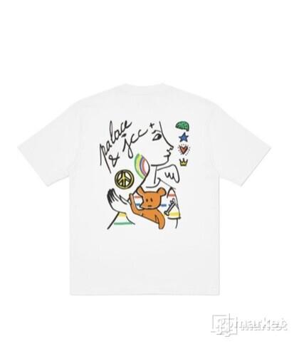 Palace  JCDC2 T-shirt white L