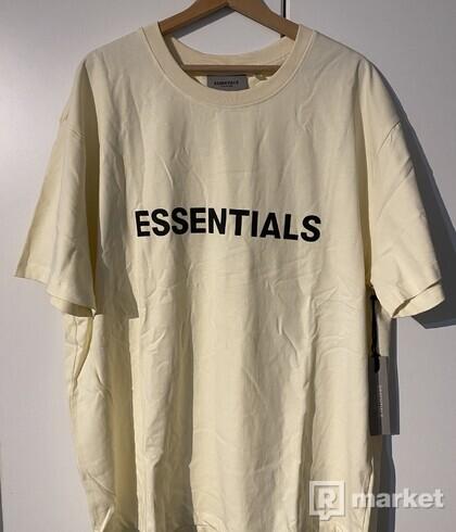 Essentials Fear of god tričko tee