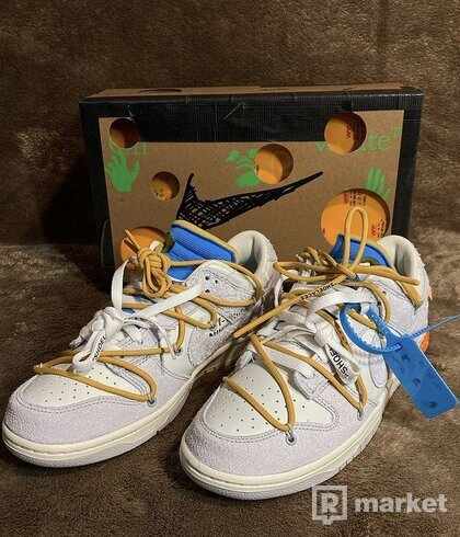 """Nike Dunk Low X Off white Lot """"34of50"""""""