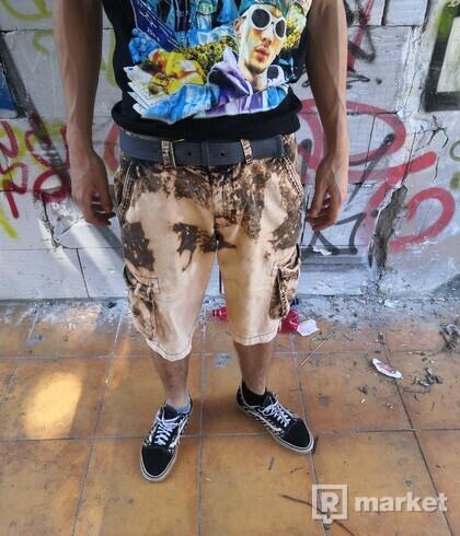 Custom cargo shorts