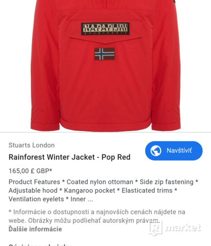 Rainforest Winter Jacket