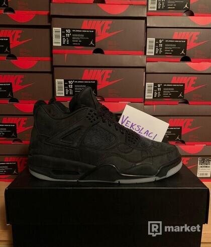 """Air Jordan 4 Retro Kaws """"Black"""""""