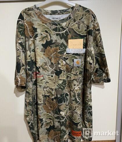 Heron Preston x Carhartt camo Tshirt