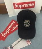 Supreme/LACOSTE Twill 6-Panel Navy
