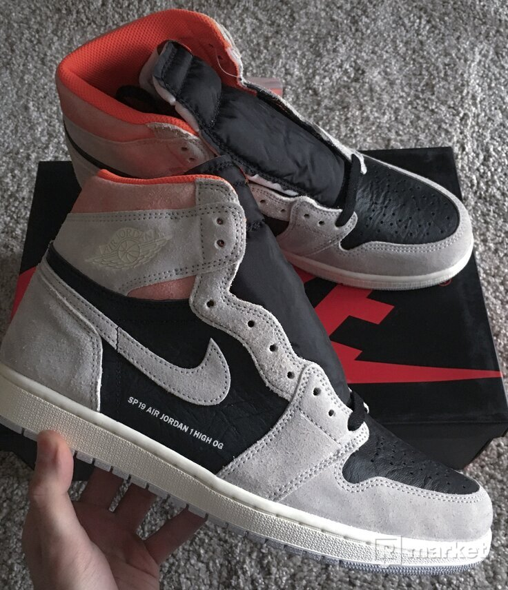 Air Jordan 1 High OG Neutral Grey