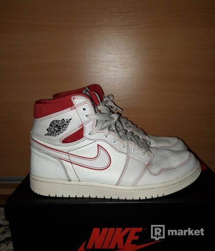 Air Jordan 1 Phantom Red