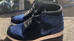 Nike Jordan 1 flyknit blue