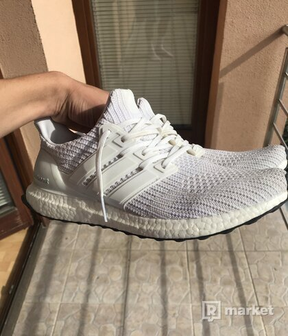 Adidas Ultraboost 4.0 Triple white size 11
