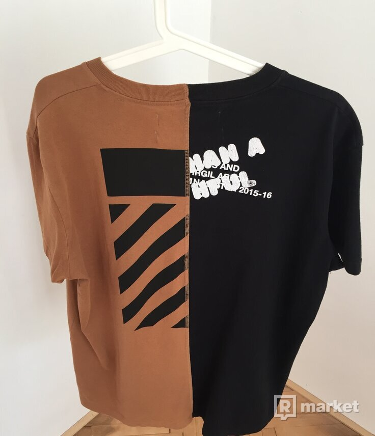Off-White x Midnight Studios Split Tee
