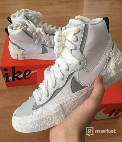 Nike Sacai Blazer White