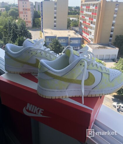 Nike dunk low - Yellow strike