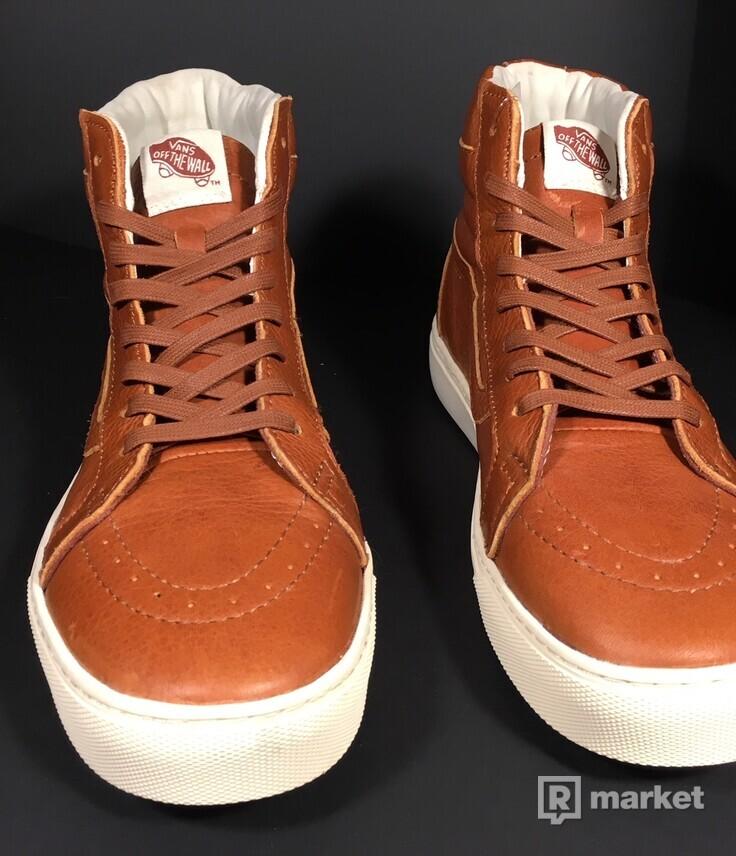 Vans Sk8-Hi Cup California Leather Henna/ Turtledov