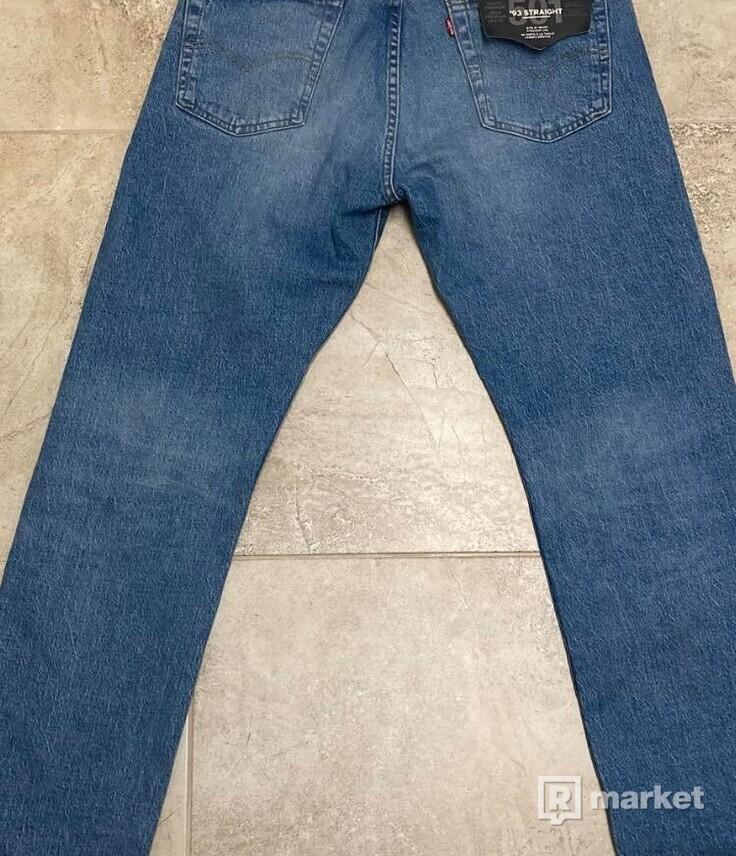 levi´s jeans pánské 501 33/32