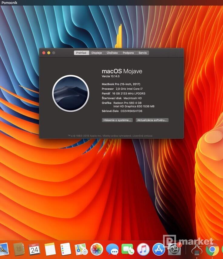 """Macbook Pro 15"""" 512 GB"""