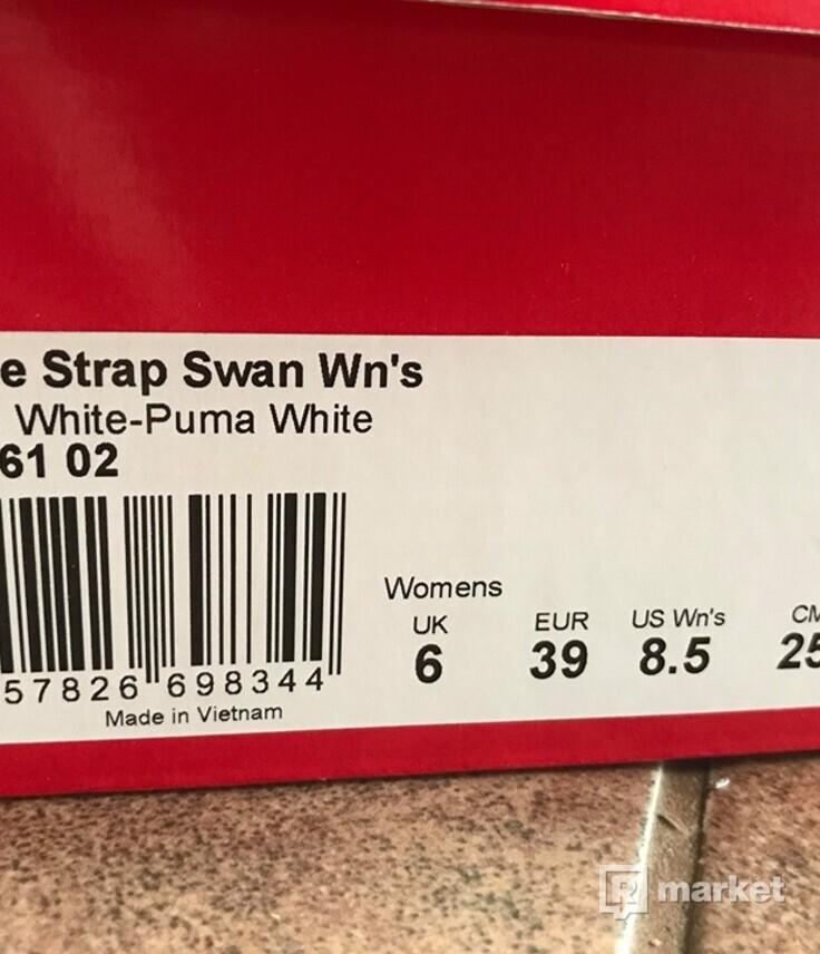 Puma Fierce swan white