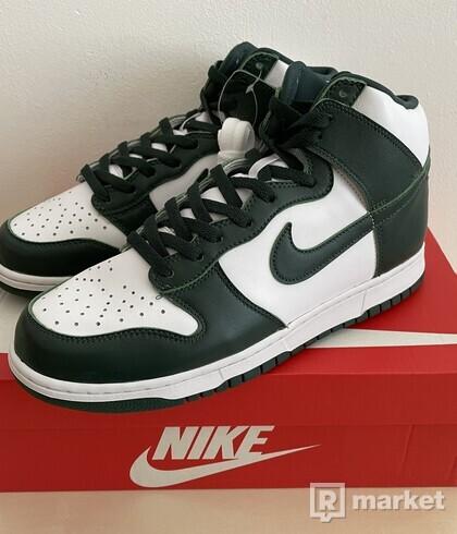 Nike Dunk High Spartan Green (Pro Green) - US10.5