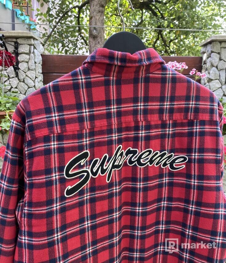 Supreme Arc Logo Flannel