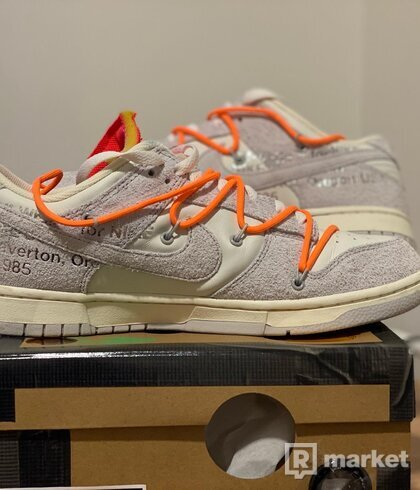 Nike low dunk offwhite lot 31