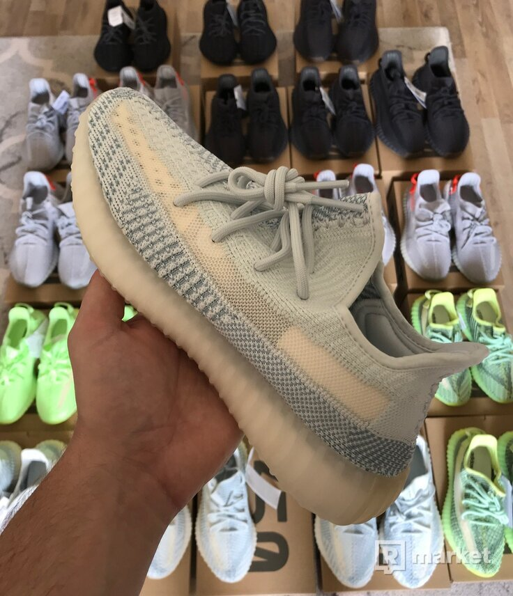 Adidas Yeezy Boost 350 V2 Black / Cinder / Cloud white / Glow / Tail light  / Yeezreel RF