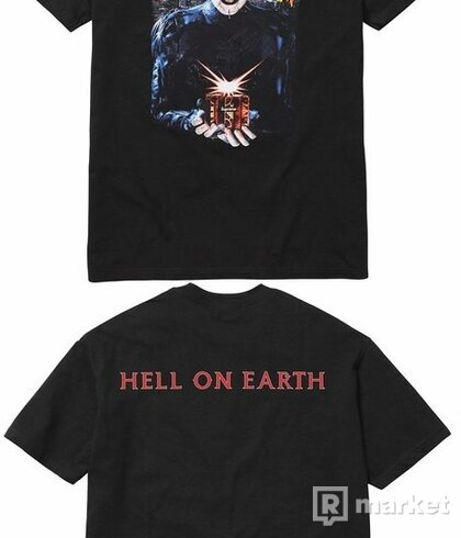 supreme hellraiser hell on earth tee