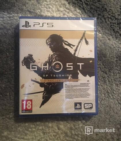 Predám hru Ghost of Tsushima (Director's Cut) CZ - PS5