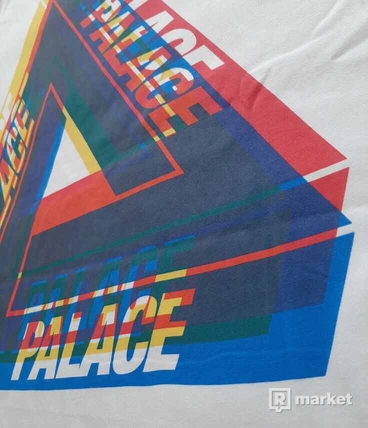 Palace Tri Blur Tee White