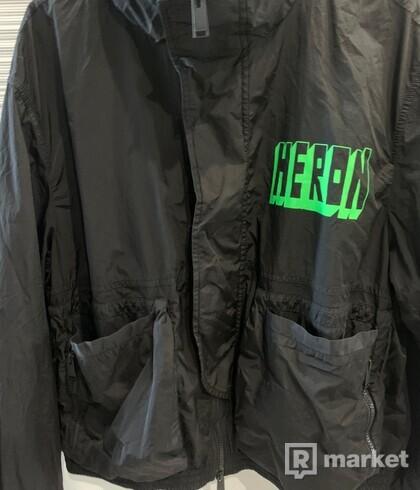 Heron Preton Logo Print Jacket
