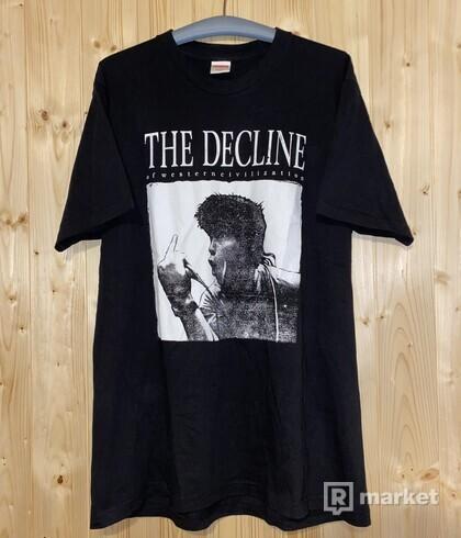 Supreme decline tee (2017)