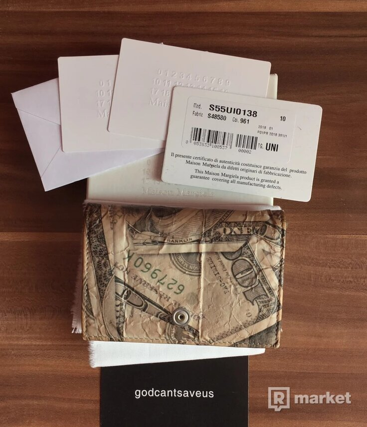Maison Margiela 11 Money Wallet