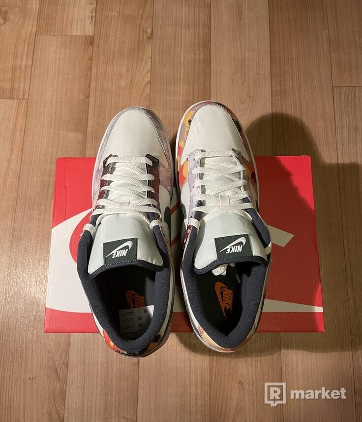 Nike Dunk Low SE Sail Multi-Camo 47.5
