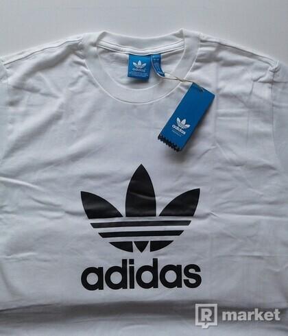 """Adidas tričko """"L"""" - biele"""