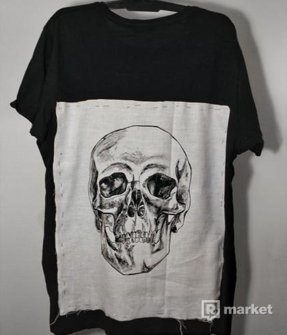 Ručné maľované tričko