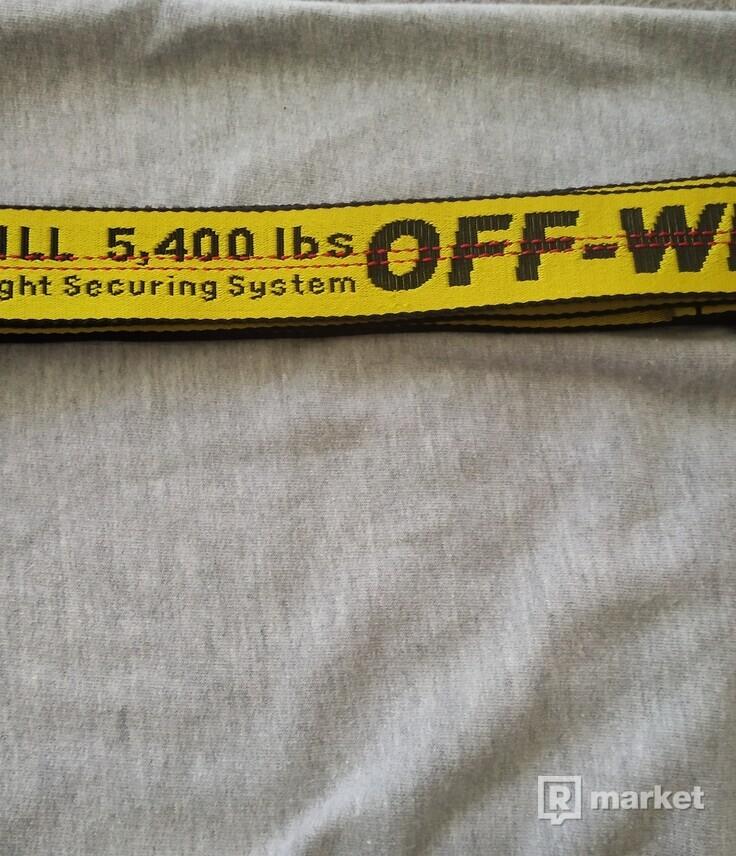 Predám Off white belt