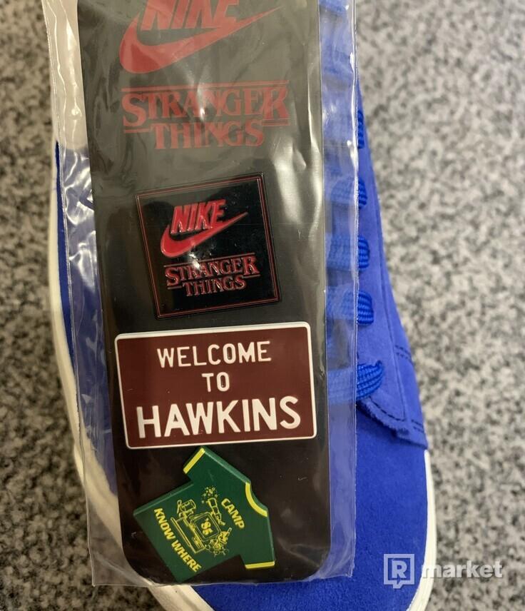 Nike blazer x stranger things