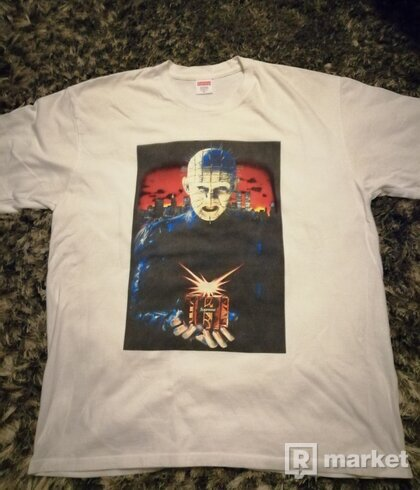 Supreme HELLRAISER HELL ON THE EARTH TEE XL
