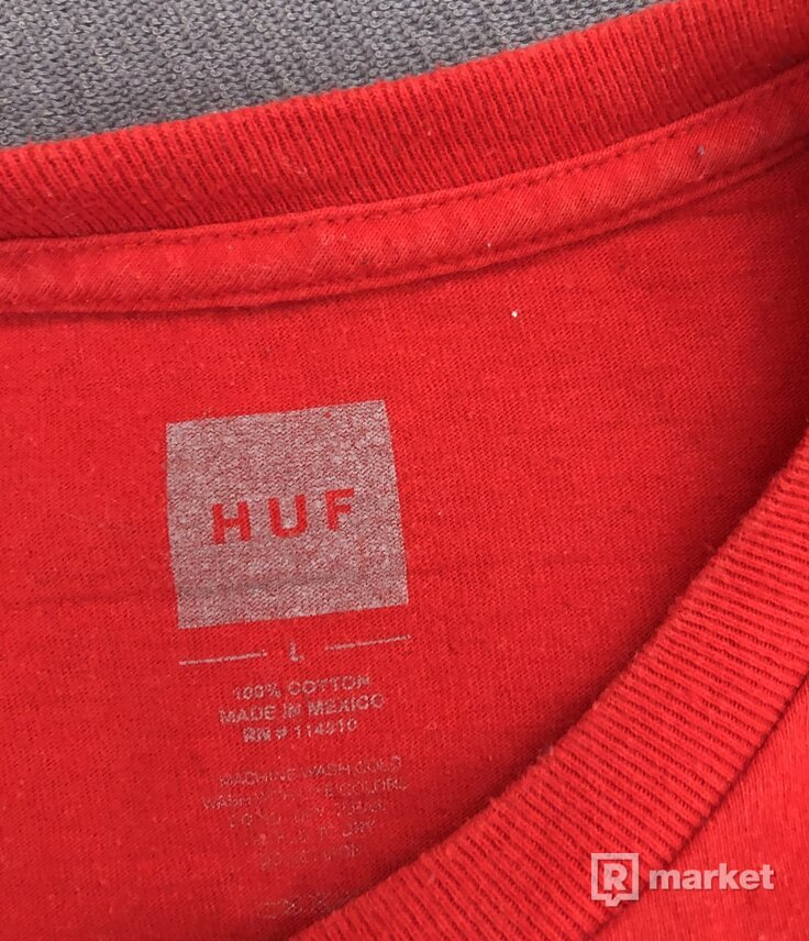 HUF essentials TT (red)