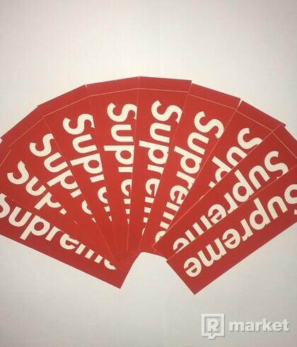 SUPREME Bogo sticker