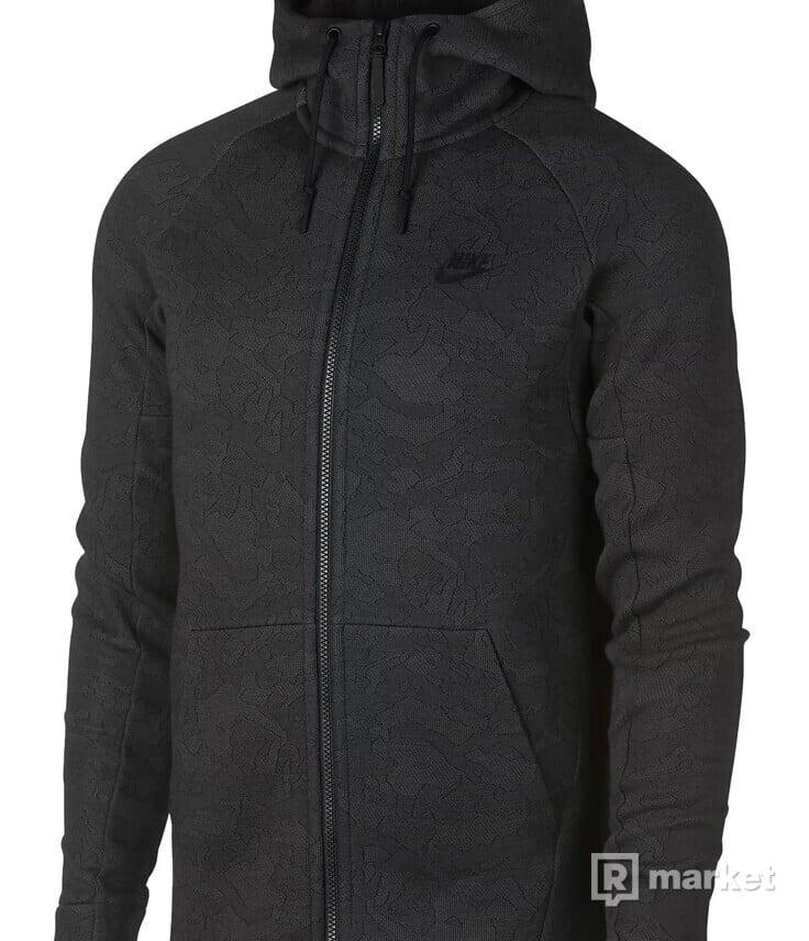 Mikina Nike Tech Fleece Jacquard Zip Hoodie
