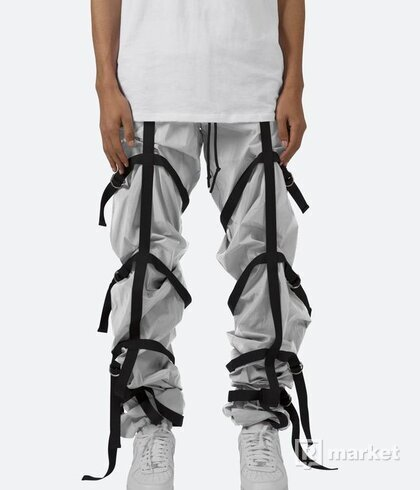 mnmla REFLECTIVE STRAPPED PANTS