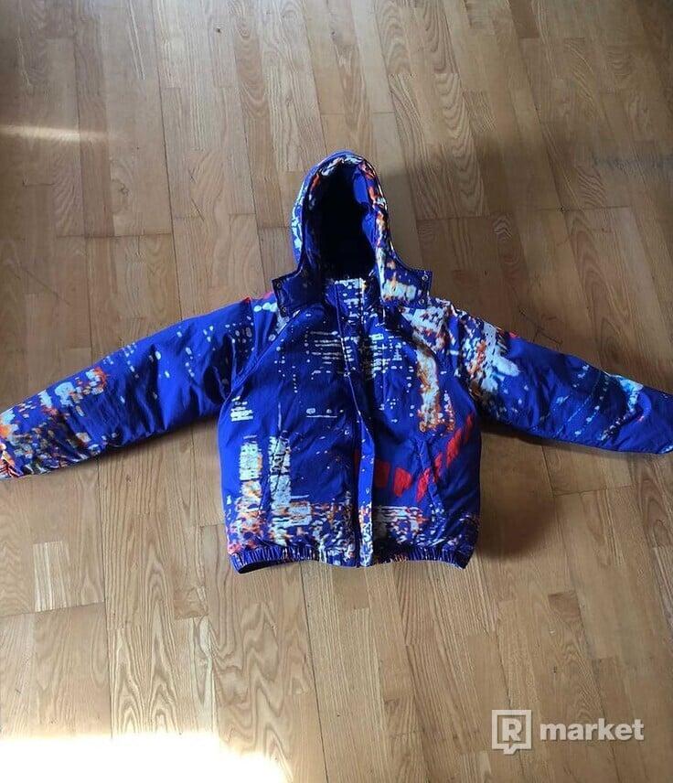 Supreme City Lights Puffy Jacket