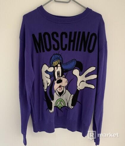 Moschino x hm Purple Goofy Sweater