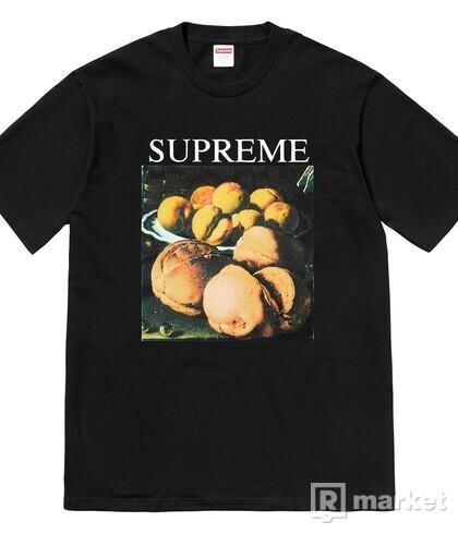 Supreme black still Life tee