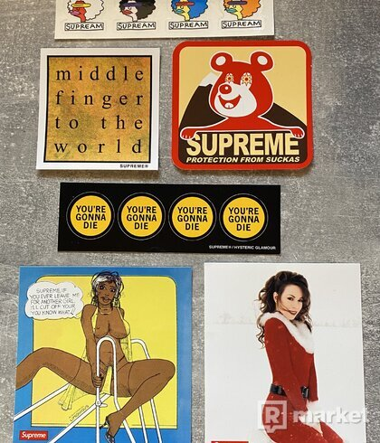 Supreme stickers 70+ks